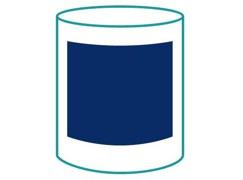 Tassendruck Logodruck gegenüber Henkel