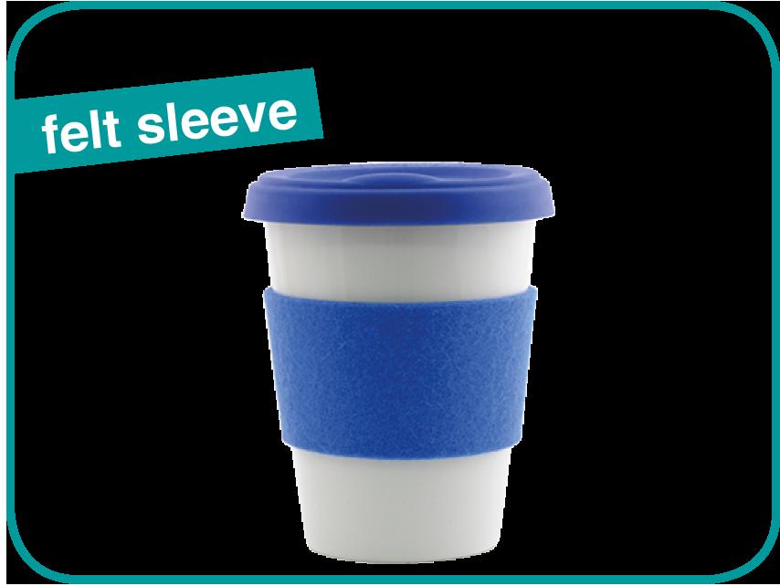 Felt Sleeve ToGo Mug