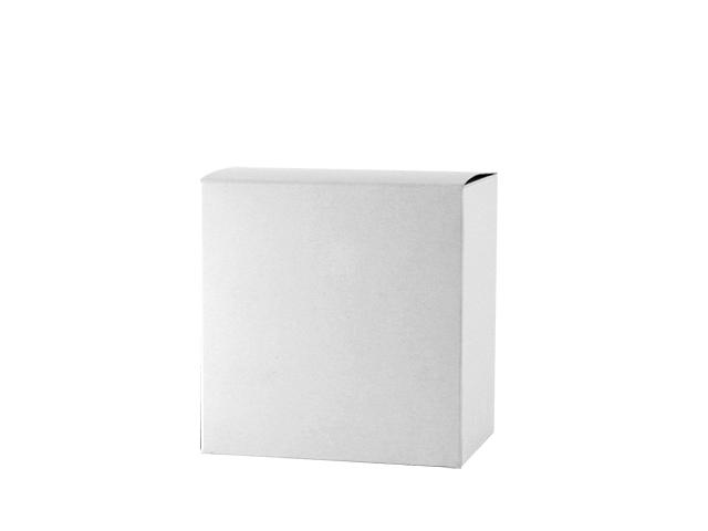 Einzelverpackung ohne Sichtfenster in weiß, klein