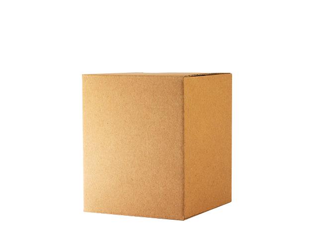 Einzelverpackung ohne Sichtfenster in braun, klein